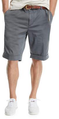 Brunello Cucinelli Twill Bermuda Shorts