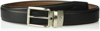 Dockers Reversible Casual Dress Belt With Comfort Stretch,Cognac/black