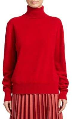 The Row Donnie Wool Turtleneck Sweater