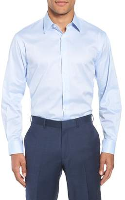 John W. Nordstrom R) Traditional Fit Solid Dress Shirt