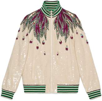 Gucci Embroidered sequin jacket
