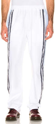 Vetements Track Pants in Stripes & Light Blue & White   FWRD