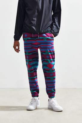 Urban Outfitters Patterned Polar Fleece Jogger Pant