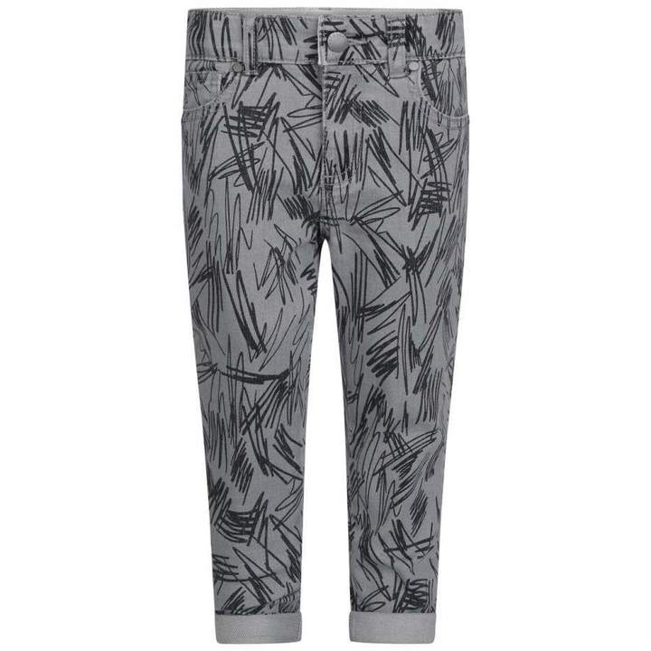 KidsBoys Grey Lohan Jeans With Scribbles