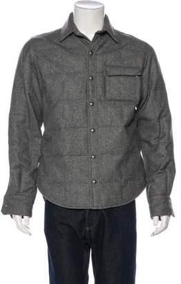 Moncler Gamme Bleu Down Shirt Jacket
