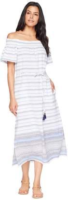 Tommy Bahama Linen Cotton Midi Dress Cover-Up Women's Swimwear