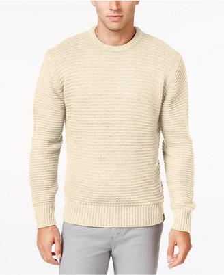 Weatherproof Vintage Men's Textured Stripe Sweater, Classic Fit $90 thestylecure.com