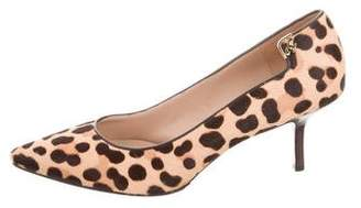 Tory Burch Ponyhair Pointed-Toe Pumps