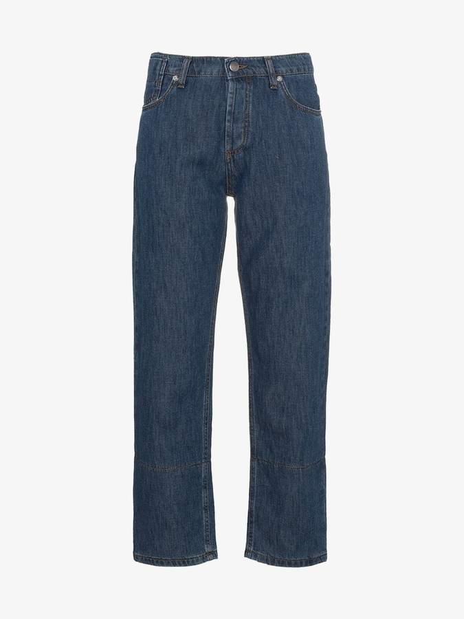 boyfriend straight leg jeans