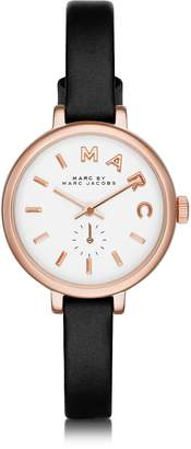 Marc by Marc Jacobs Sally 28 MM Stainless Steel and Leather Strap Women's Watch