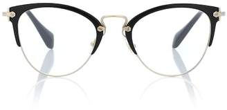 Miu Miu Cat-eye glasses