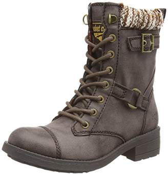 Rocket Dog Women's Thunder Combat Boots, (Brown), 39 EU