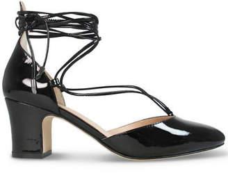Wittner Ladies Shoes Black Patent Heels