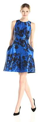 Donna Morgan Women's Fit and Flare Printed Dress $125.64 thestylecure.com