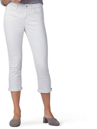 f99cd5b46f0 Lee Flex Motion Mid Rise Denim Capris- Petite