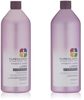 Pureology Hydrate Sheer Shampoo & Conditioner Bundle