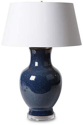 Barbara Cosgrove Belly Urn Table Lamp - Lapis