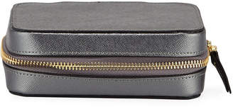 Neiman Marcus Large Leather Jewelry Case