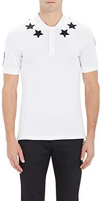 Givenchy Men's Star-Appliquéd Polo Shirt $535 thestylecure.com