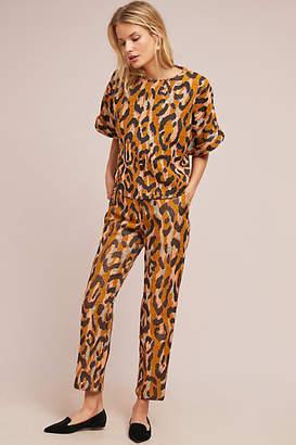 34N 118W Leopard Trousers