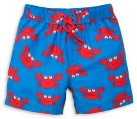Little Me Baby Boy's Crab-Print Swim Trunks