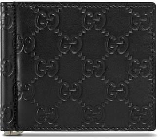 Gucci Signature money clip wallet