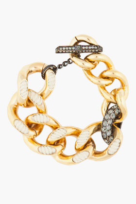 LANVIN Cord Link Bracelet