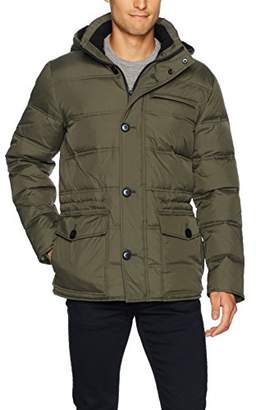 Kenneth Cole New York Men's Hooded Down Parka
