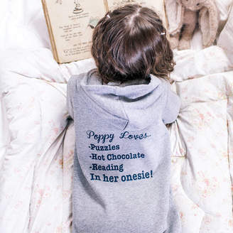 Sparks And Daughters Personalised Kids My Favourite Things Onesie