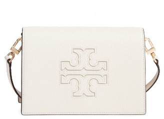 Tory Burch Harper Leather Clutch - White $395 thestylecure.com