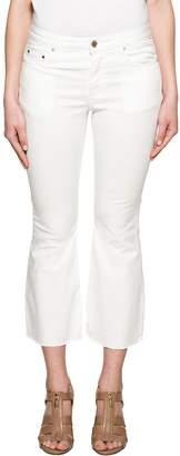 Michael Kors White Cropped Denim Jeans