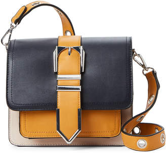 Christian Lacroix Cxl By Navy & Honey Elisabeth Color Block Crossbody