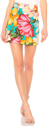 Milly New Modern Mini Skirt