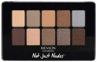 Revlon NEW ColorStay Not Just Nudes Shadow Palette - Passionate Nudes