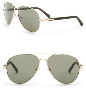 GUESS 62mm Aviator Sunglasses