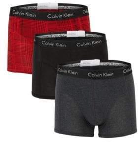 Calvin Klein Elements Three-Pack Logo Boxer Briefs