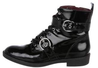 Marc Jacobs Patent Leather Ankle Boots Black Patent Leather Ankle Boots