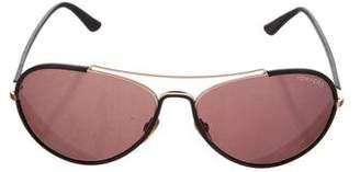 Tom Ford Shelby Aviator Sunglasses