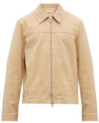 Our Legacy Drip Yoke Zip Through Shirt Jacket - Mens - Beige