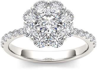 MODERN BRIDE 1 3/4 CT. T.W. Diamond 14K White Gold Engagement Ring