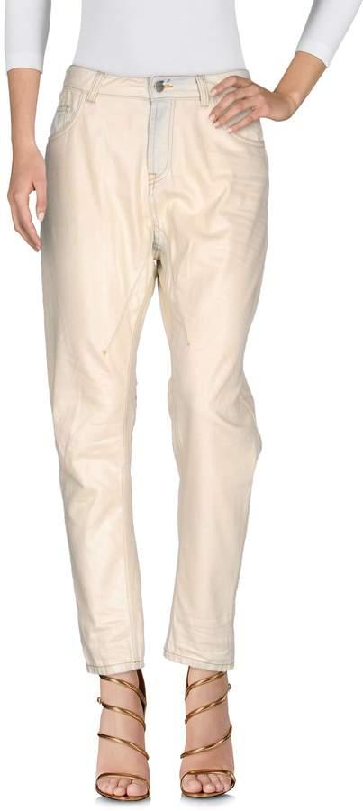 Manila Grace Denim pants - Item 42606171