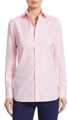Ralph Lauren Iconic Style Aston Classic Long-Sleeve Shirt