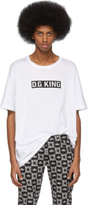 Dolce & Gabbana White King T-Shirt