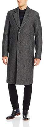 HUGO BOSS BOSS Orange Men's Bear Double Face Twill Wool Blend Long Top Coat