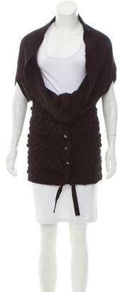 Tao Comme des Garçons Cropped Button-Up Cardigan