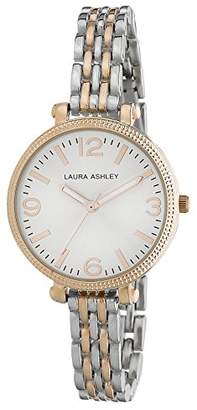 Laura Ashley Women's LA31006RG Analog Display Japanese Quartz Two Tone Watch $39.97 thestylecure.com