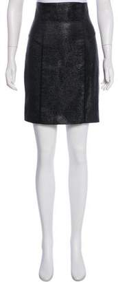 Jenni Kayne Metallic Knee-Length Skirt