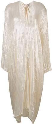Forte Forte long-sleeve flared dress