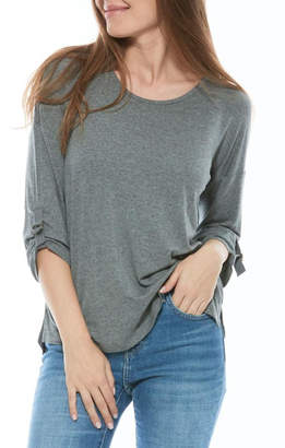 Olive and Oak Heather Grey Top