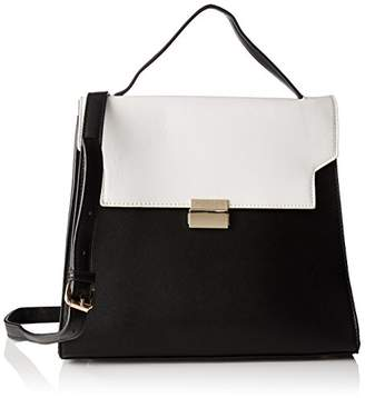 Morgan 172-2cebag.a, Women's Cross-Body Bag, Noir (Noir/Blanc), (W x H L)